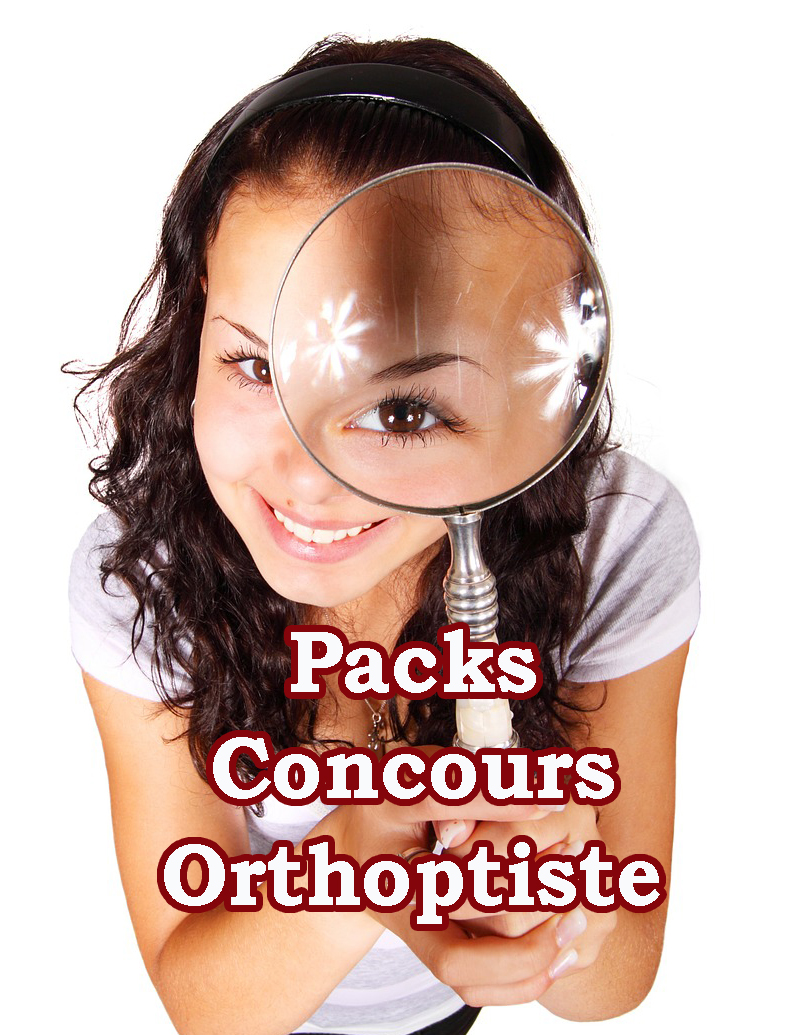 Packs - Concours-Orthoptiste 2018/2019 Image